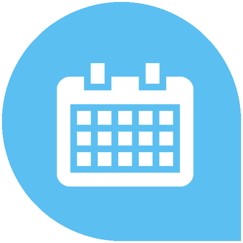 Women's fertility days calendar online